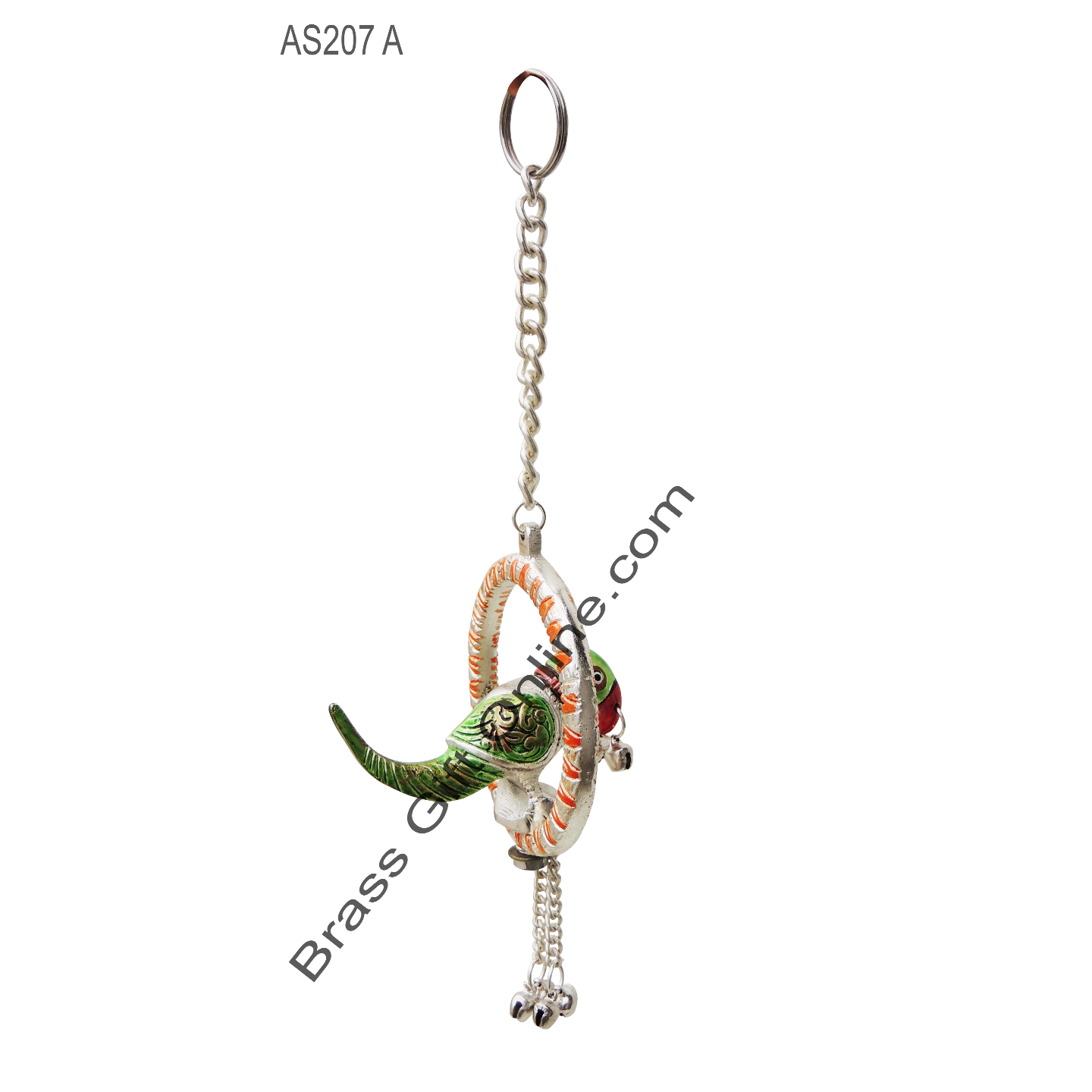 Hanging Parrot Small -3*3 Inch (AS207 A)