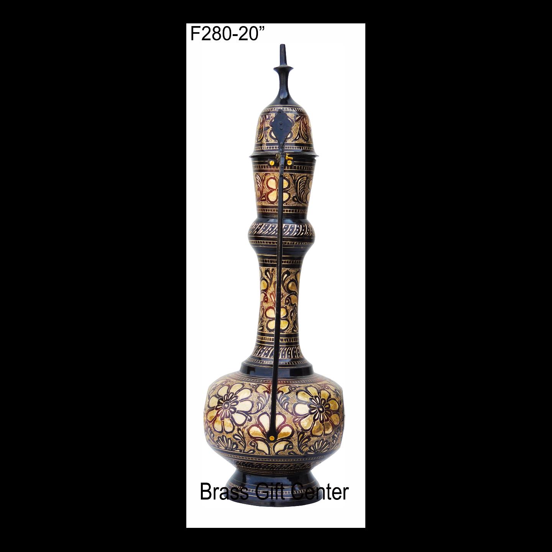 Brass Aftaba Surahi- 20 Inch  F280