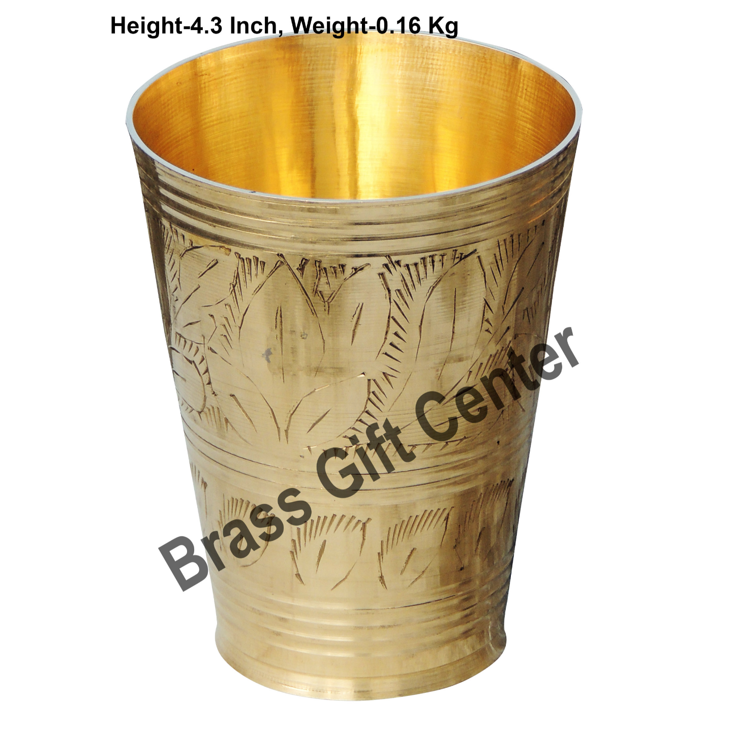 Lassi Glass Brass - 300 ml (BC113 B)