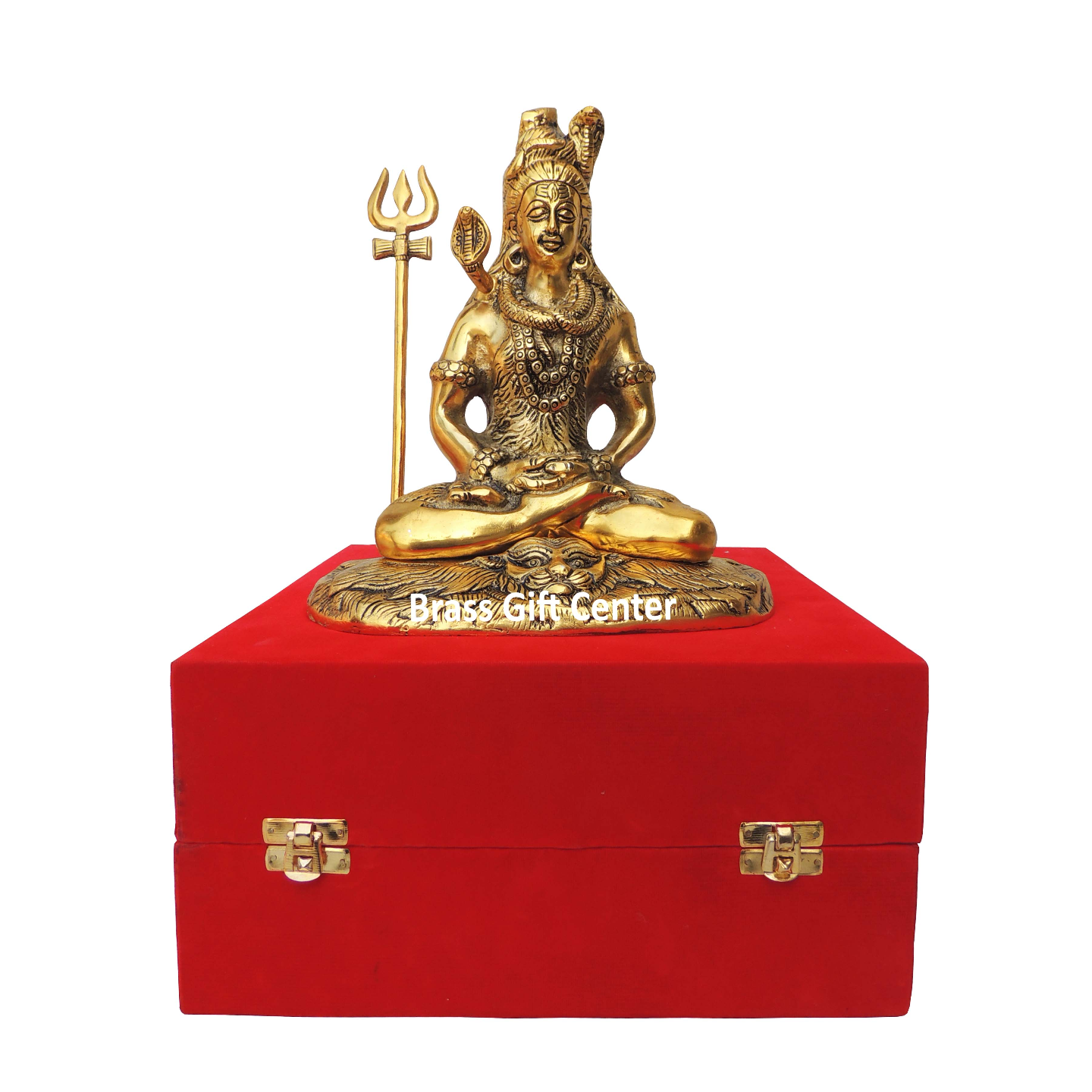 Showpiece Shiv Ji Statue - 9.8 Inch AS363 G