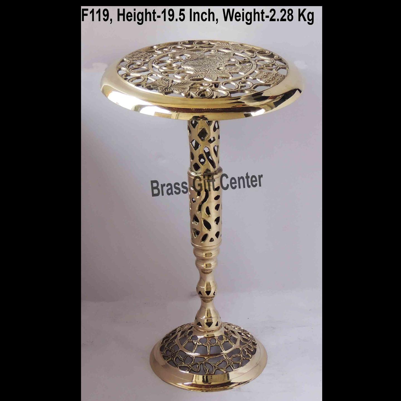 Brass Stool - 121219.6 Inch  F119