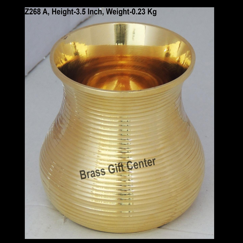 Brass Glass - 270 ml (Z268 A )