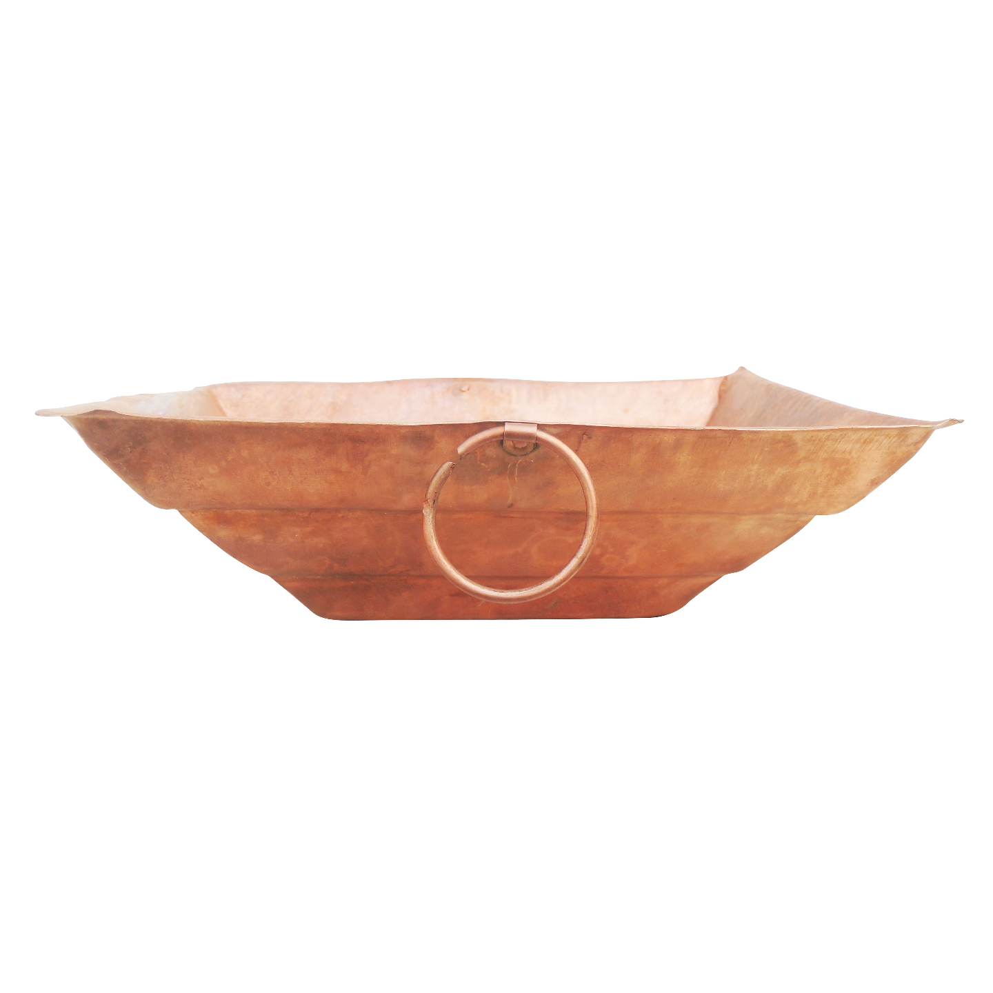 Copper Hawan Kund For Pooja Purpose No. 22 - 16 Inch (Z294 N)