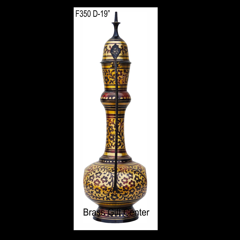 Brass Surahai Aftaba Black colour - 13*7*20 inch  (F350 D)