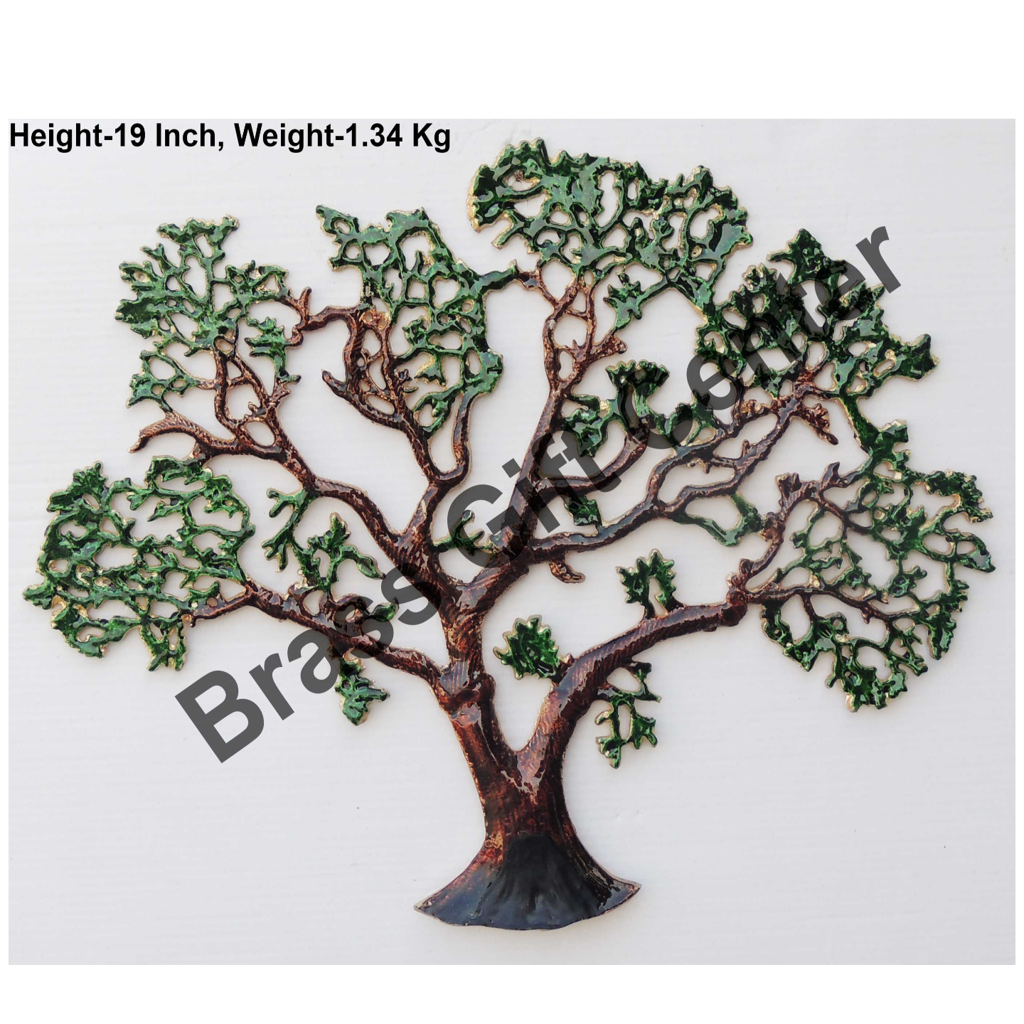 Wall Decorative Aluminium Tree - 24.2 Inch  Z123 E