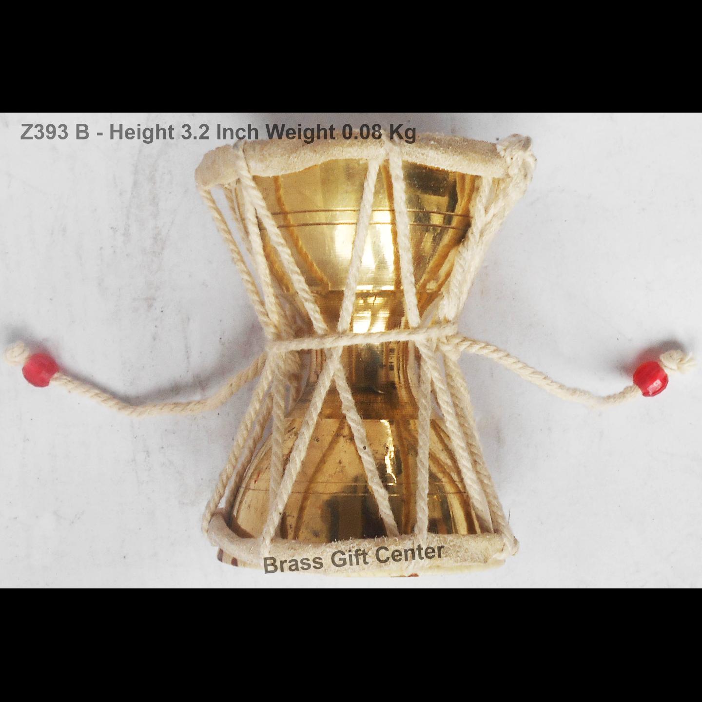 Shivji Damru No. 1 - 2.8x2.x3.2 inch Z393 B