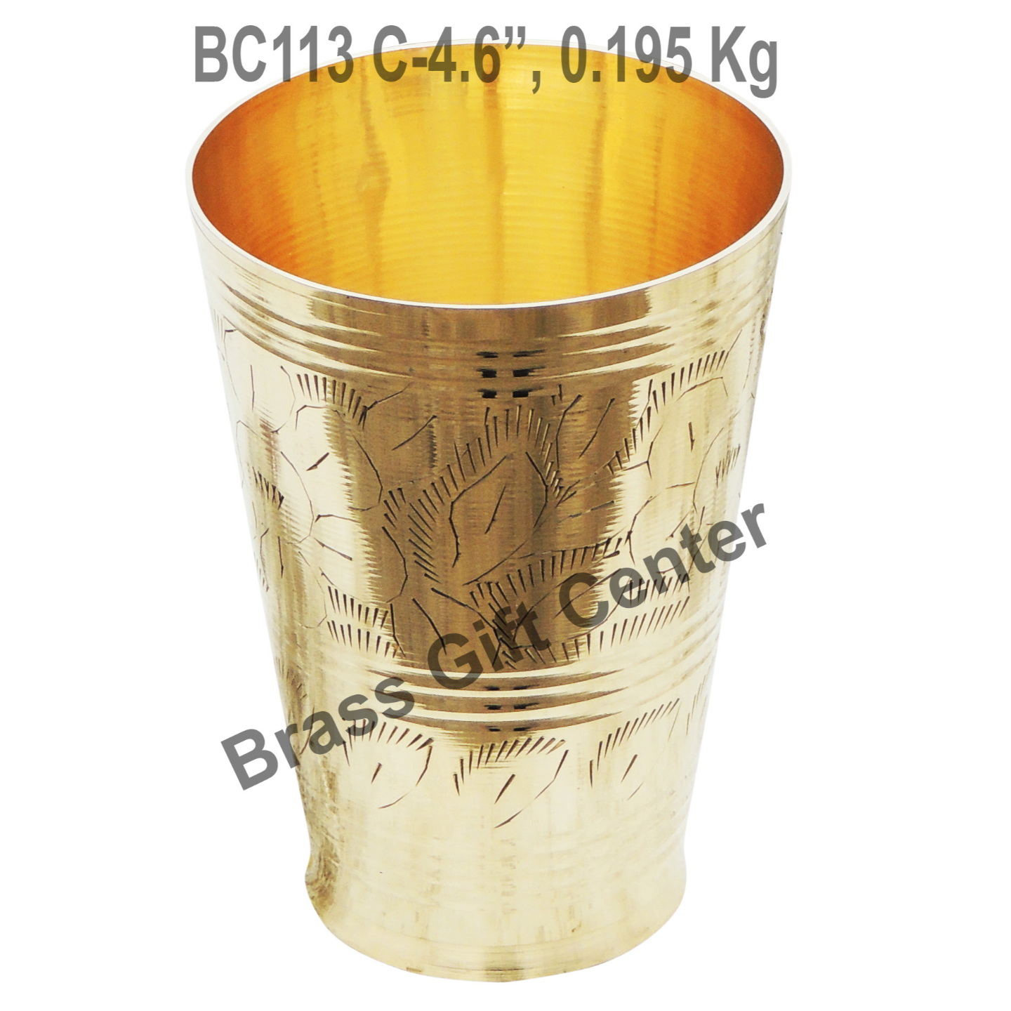 Lassi Glass Brass - 350 ml (BC113 C)