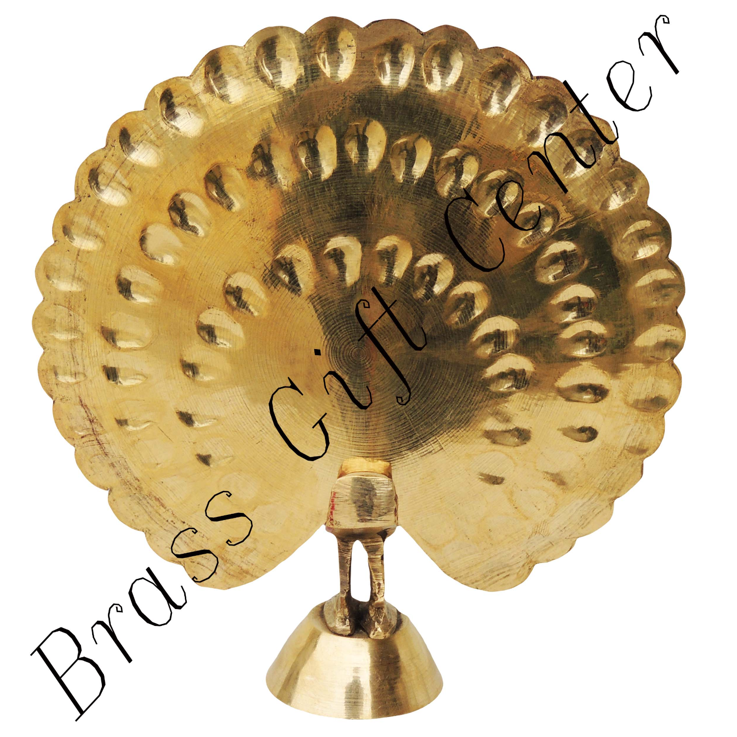 Brass Peacock More - 5.5*1.5*5.5 Inch  (F375 Y)