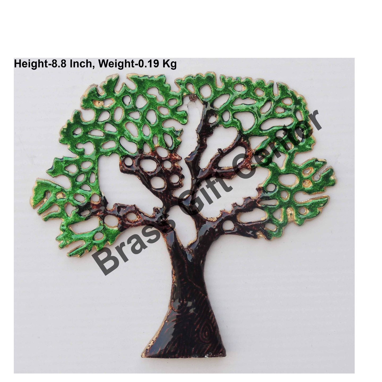 Wall Decorative Aluminium Tree - 9.4 Inch  Z123 A