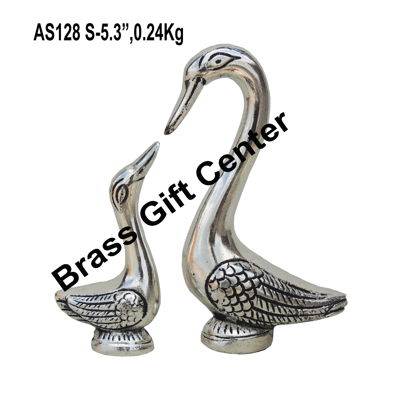 Showpiece Duck  Pair Statue - 5.3 Inch AS128 S
