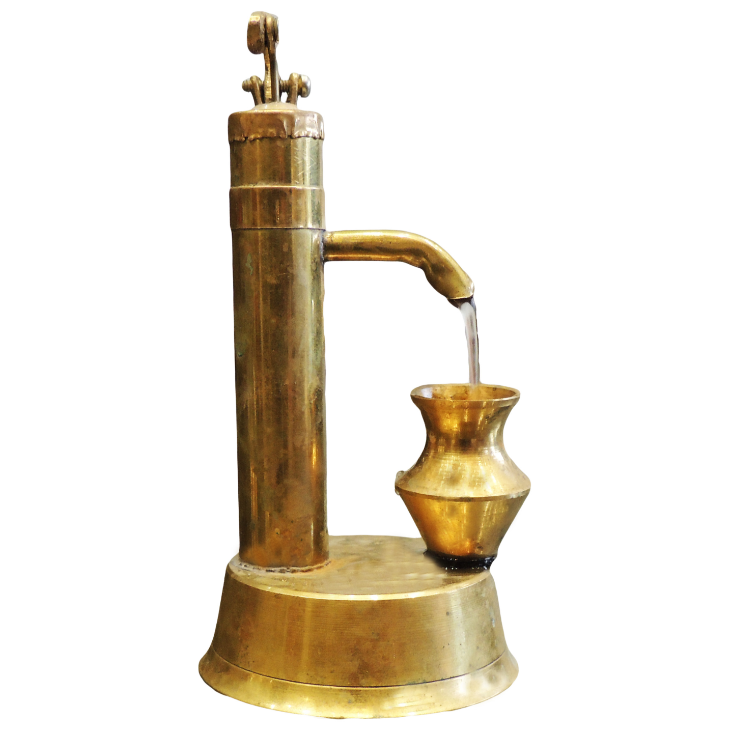 Brass Hand Pump Nal Miniature Tory fo Children Playing In Working Conditions  (F037)