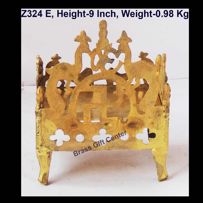 Brass Singhasan, Singhasan, Throne