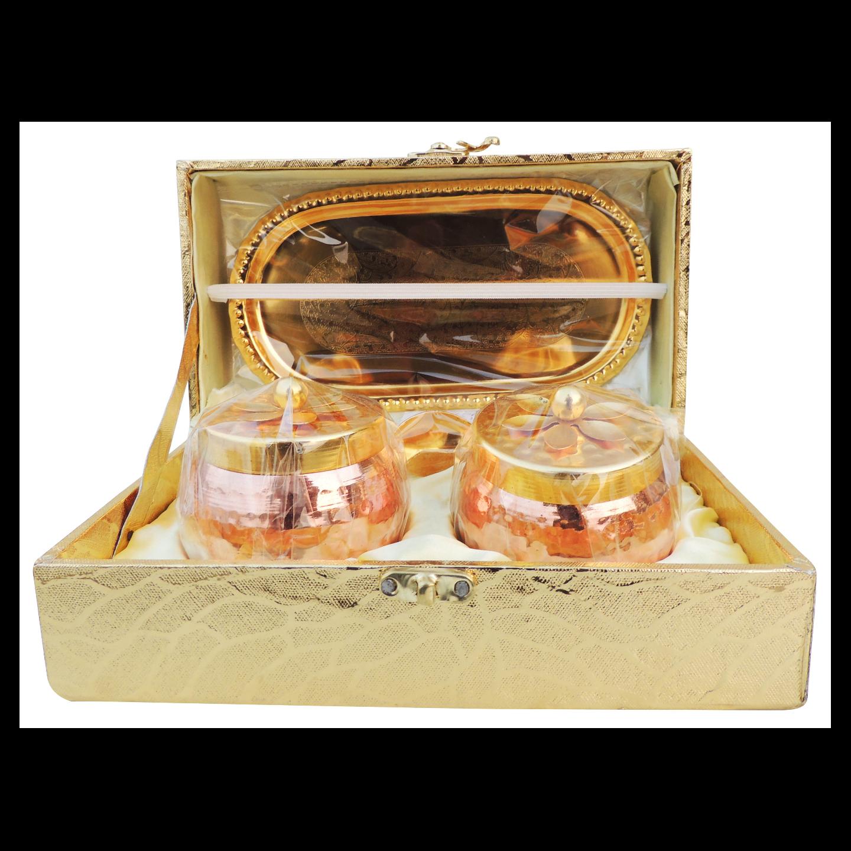 Decorative Bowl Set Diwali Gift Item - 8.6 Inch I134 B