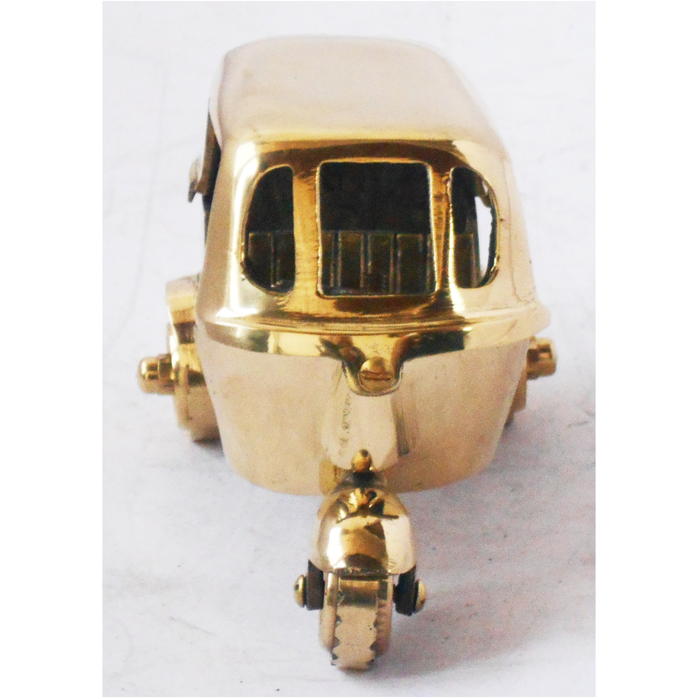 Brass Auto Toy Miniature For Children Playing- 5*3*3 inch (Z349 C)