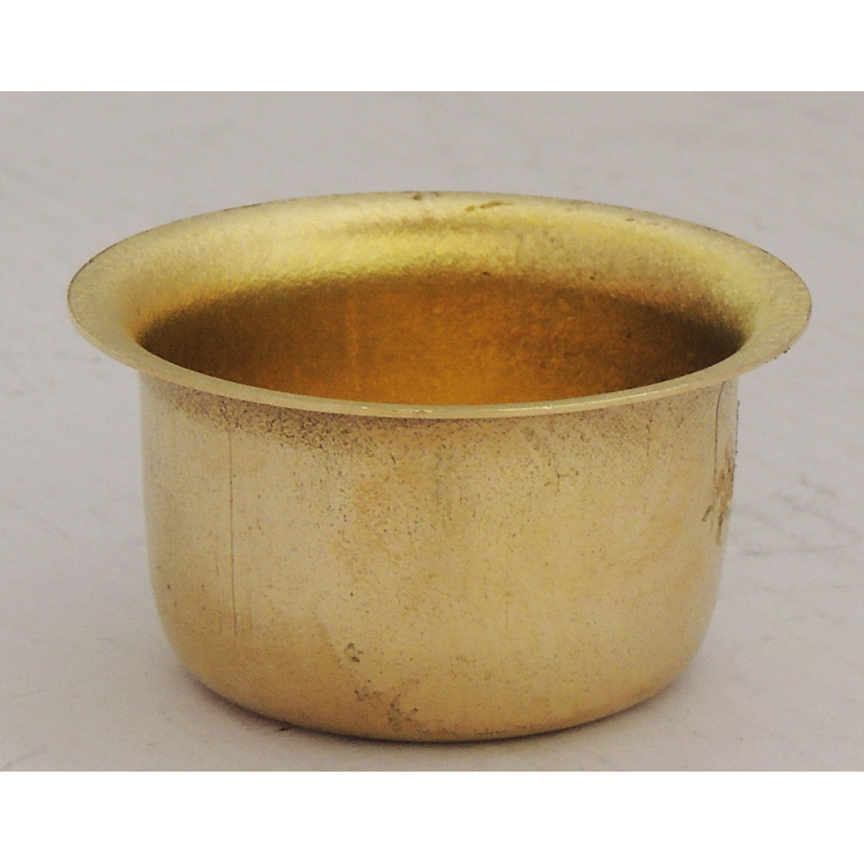 Brass mini bhagona for Children Playing - 1.9x1.9x1 inch  Z248 A