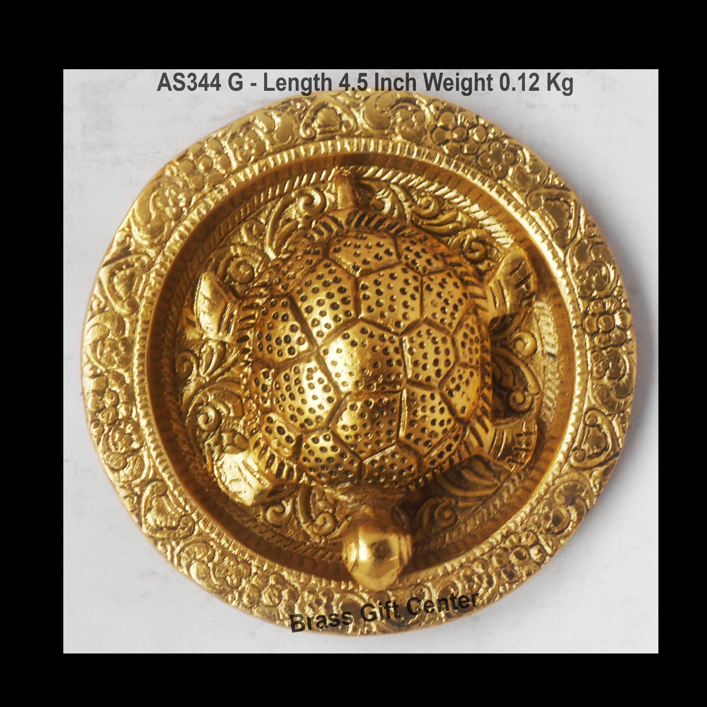 Kachua Plate Tortoise Feng Shui Item - 4.5 Inch (AS344 C)