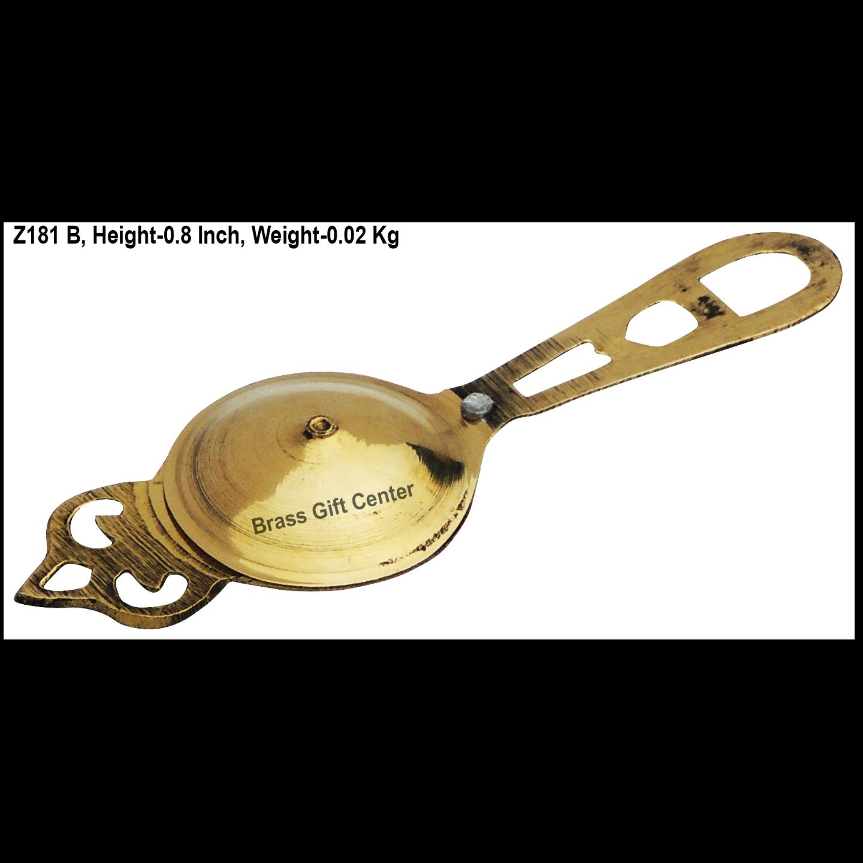 Brass Kajrota No. 1 - 4.6*1.5 Inch  (Z181 B)