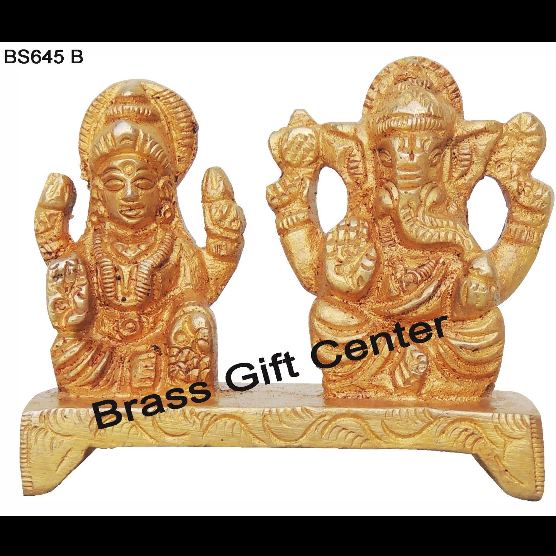 Laxmi Ganesh on Same Base 180 gm - 2.5*1*2 (BS645 B)