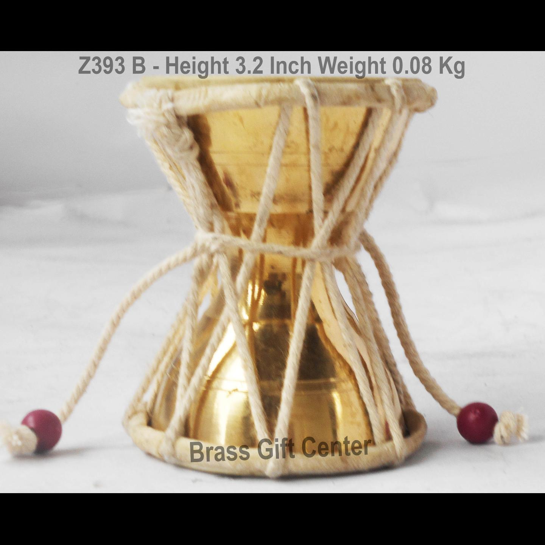 Shivji Damru No. 1 - 2.8x2.x3.2 inch (Z393 B)