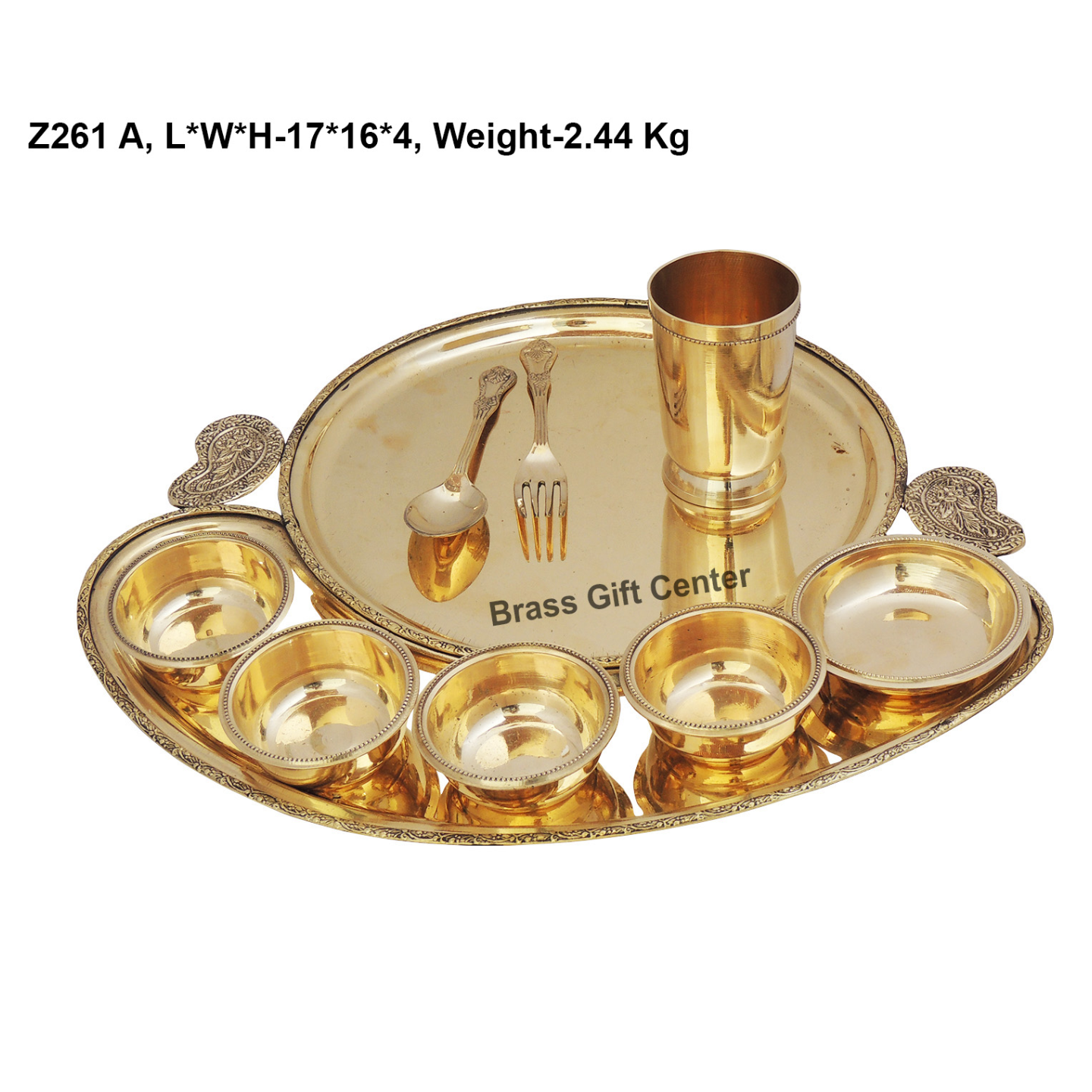 Brass Thali, Brass Table Thali, Thaali,  , Brass Plate,  , Thali Set, Yellow Brass Thali, Brass Diner Set, Dinnor Set, Dinner Items, Brass Dinner