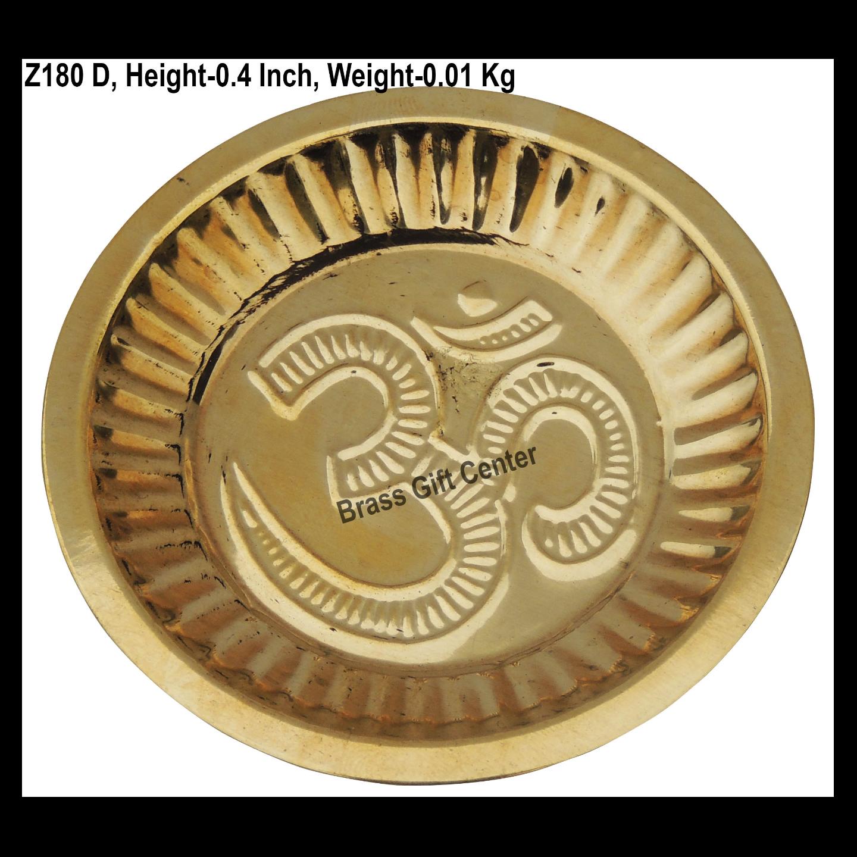 Brass Plate - 3.6*3.6 Inch  (Z180 D)