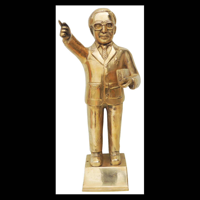 Brass Ambedkar Idol Staute Murti - 7*6.5*16 Inch  (BS533 X)