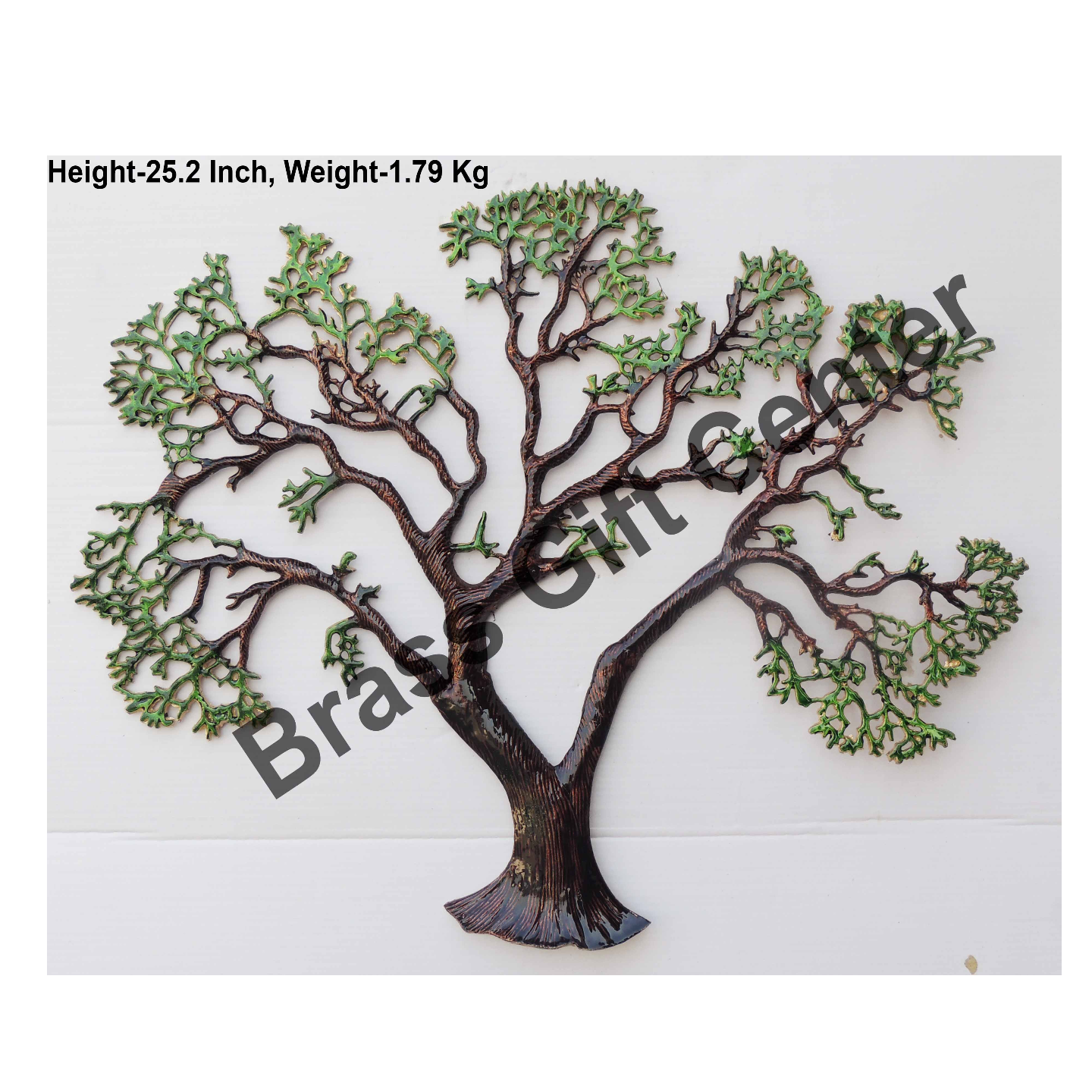Wall Decorative Aluminium Tree - 32 Inch  (Z123 F)