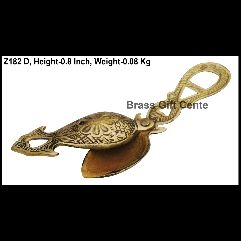 Brass Kajrota Embose - 6.3*1.3 Inch  (Z182 D)