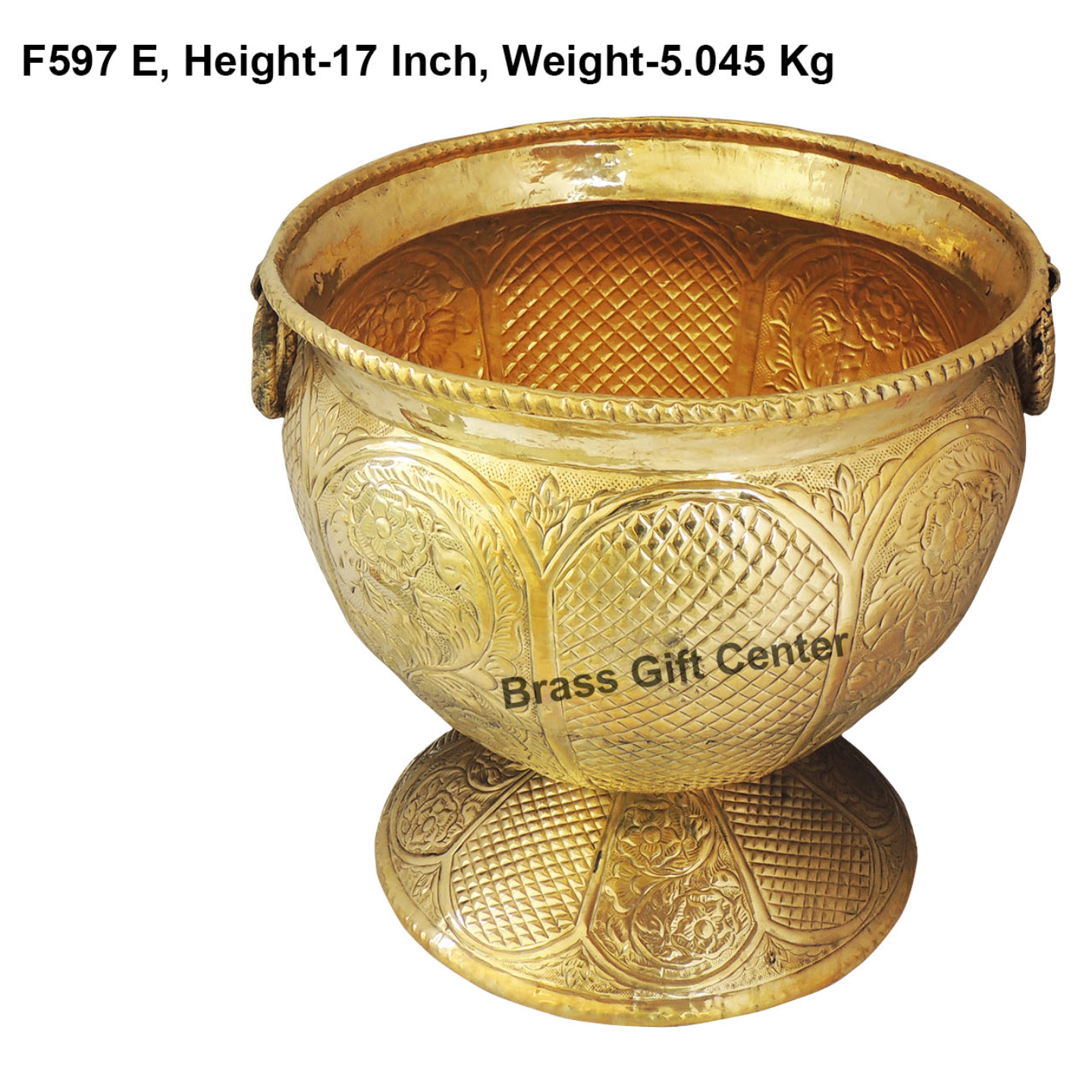 Brass Panter with Base - 171717 inch F597 E