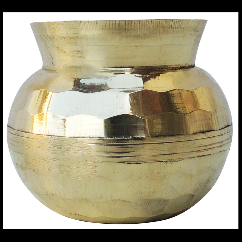 Brass Diamond Shape Lota No. 00, 300 ML (Z481 A)