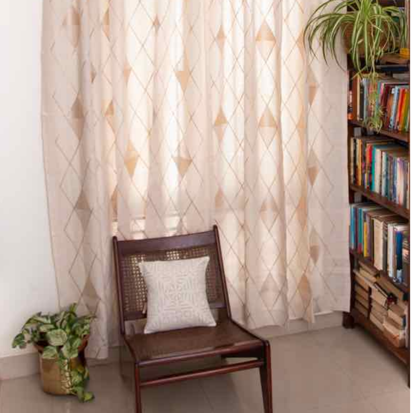 Curtain - Embroidered