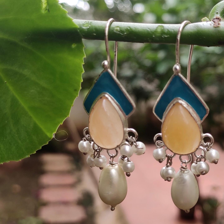 Yellow Aventurine Earrings