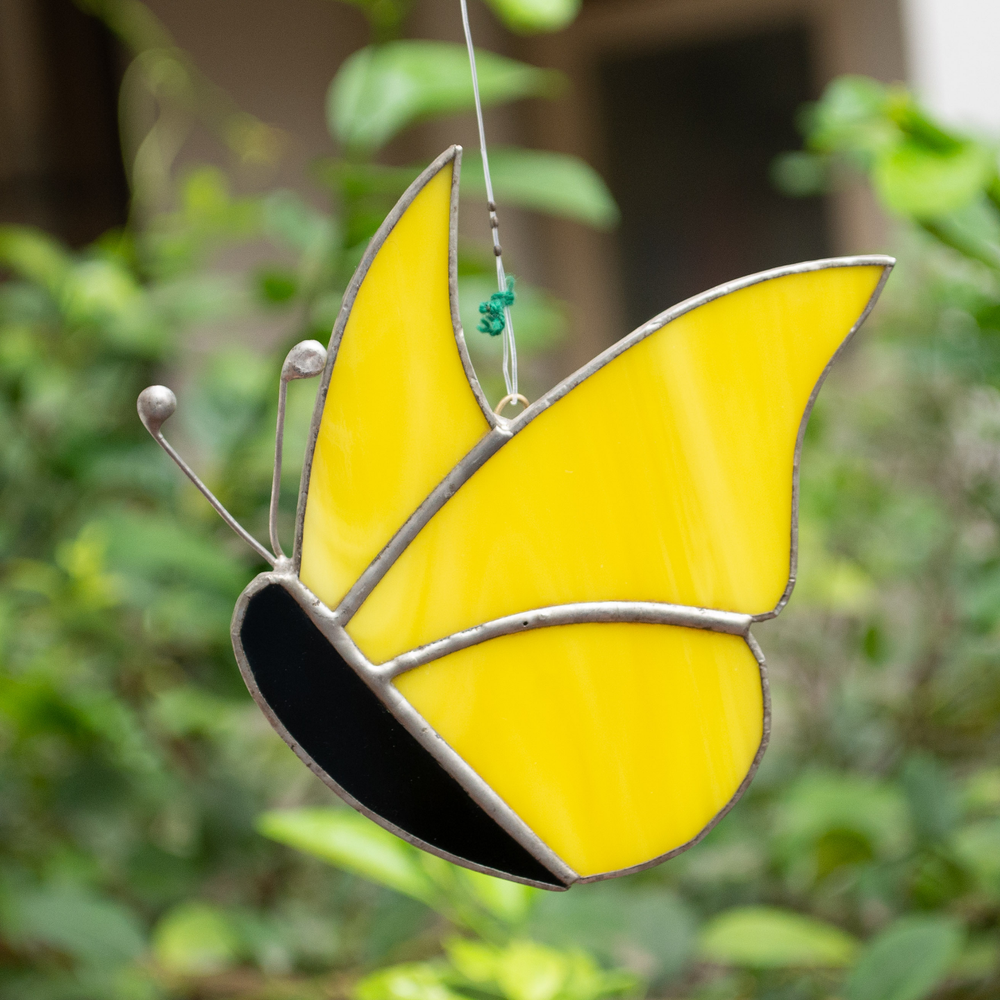 Sunshine in My Wings Yellow Sun Catcher - Butterfly