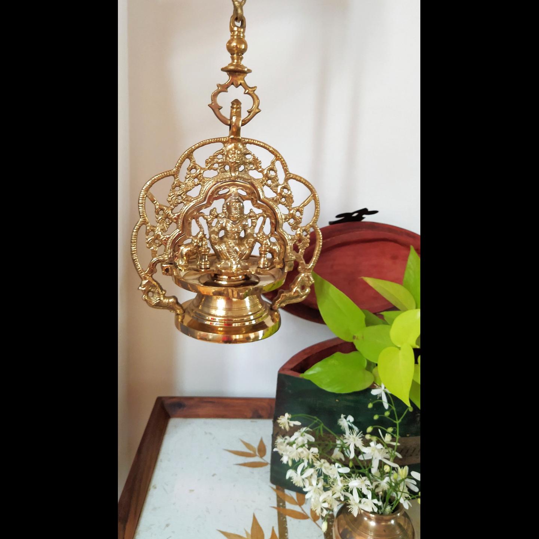 Lamp - Gajalakshmi Traditional Hanging Lamp
