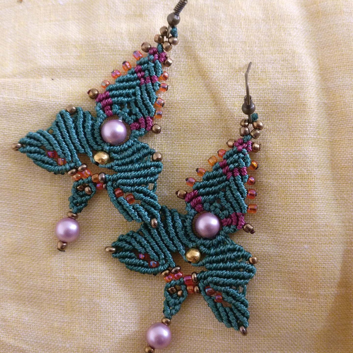 Earrings - Sundari Beads and Knots
