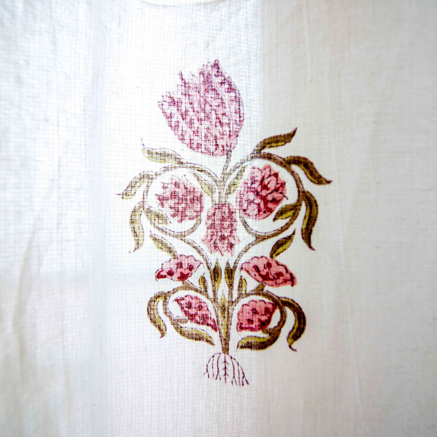 Curtain - Hand Block Printed