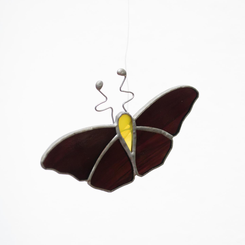 Black Beauty Sun Catcher - Butterfly