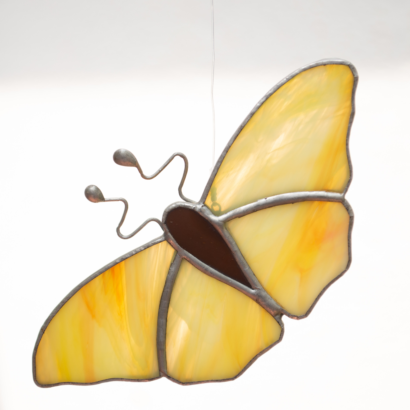 Shades of Yellow Sun Catcher - Butterfly