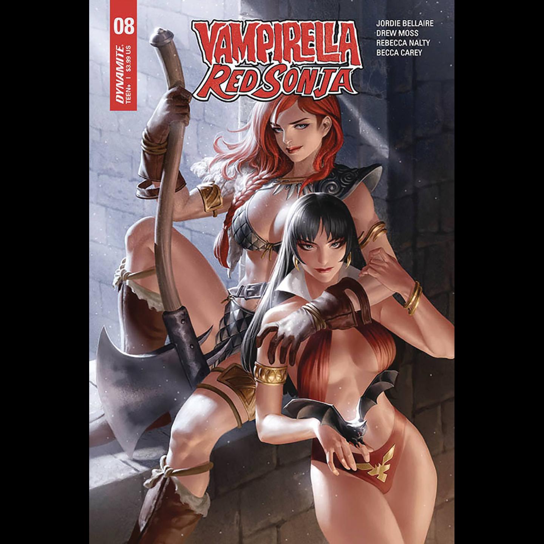 VAMPIRELLA RED SONJA #10 CVR B REIS