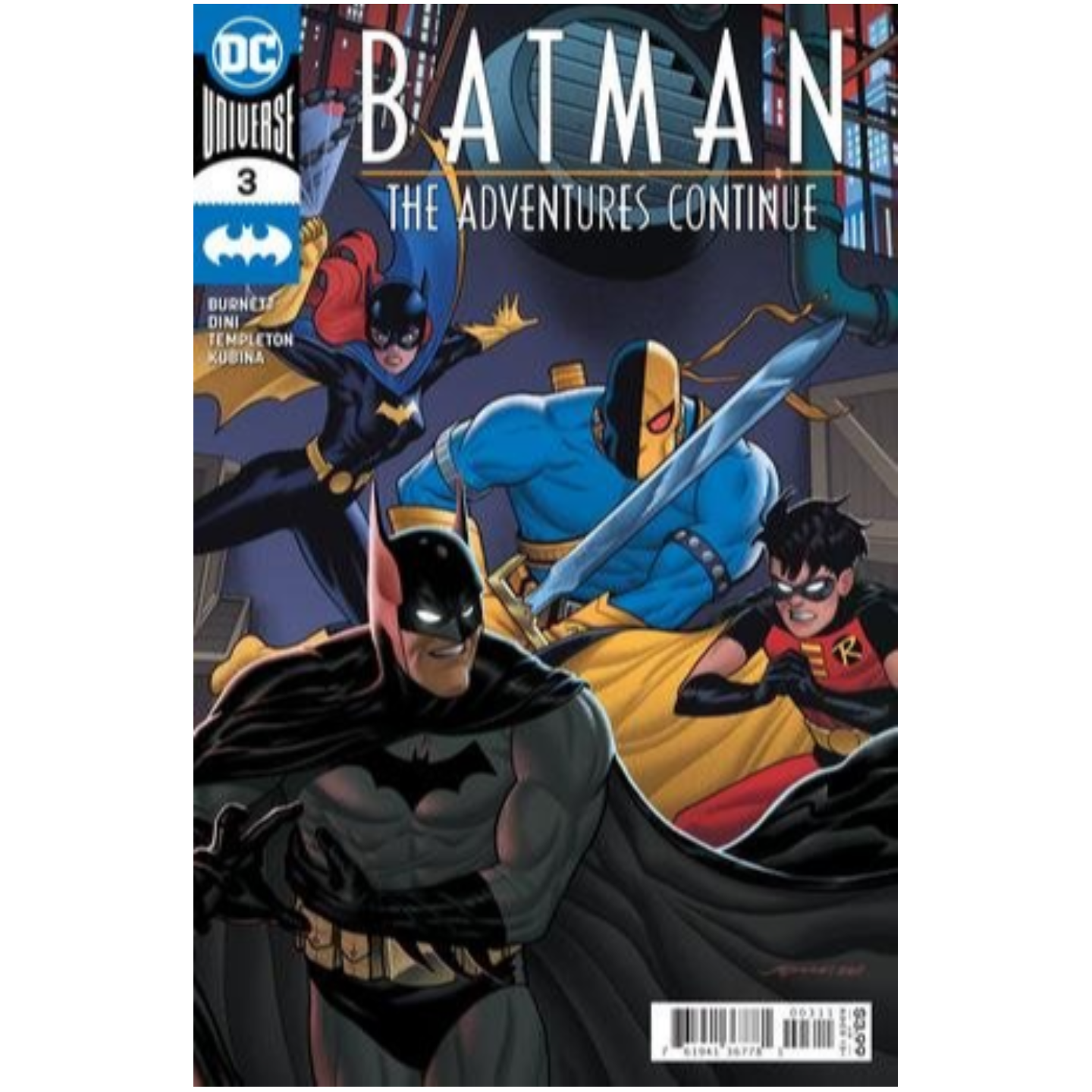BATMAN THE ADVENTURES CONTINUE 3 OF 6 CVR A JOE QUINONES