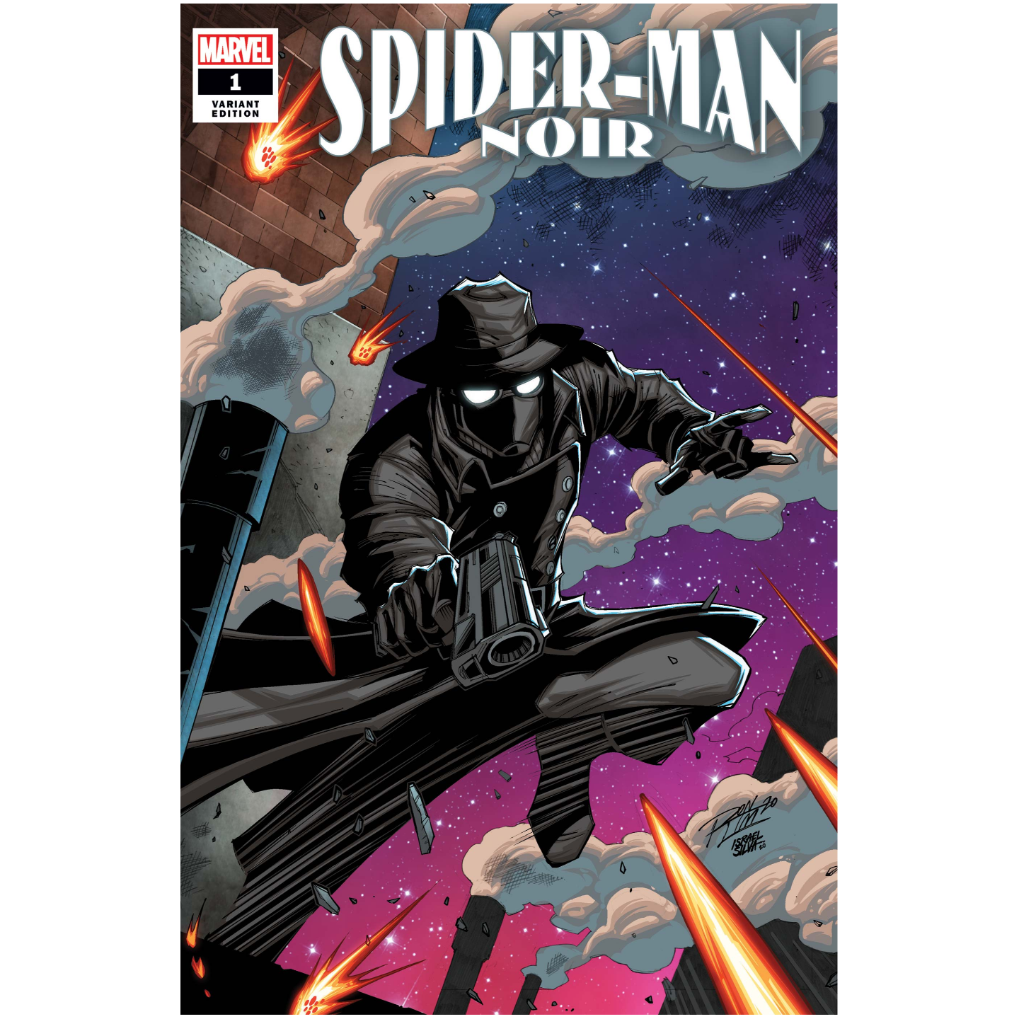 SPIDER-MAN NOIR 1 OF 5 RON LIM VAR