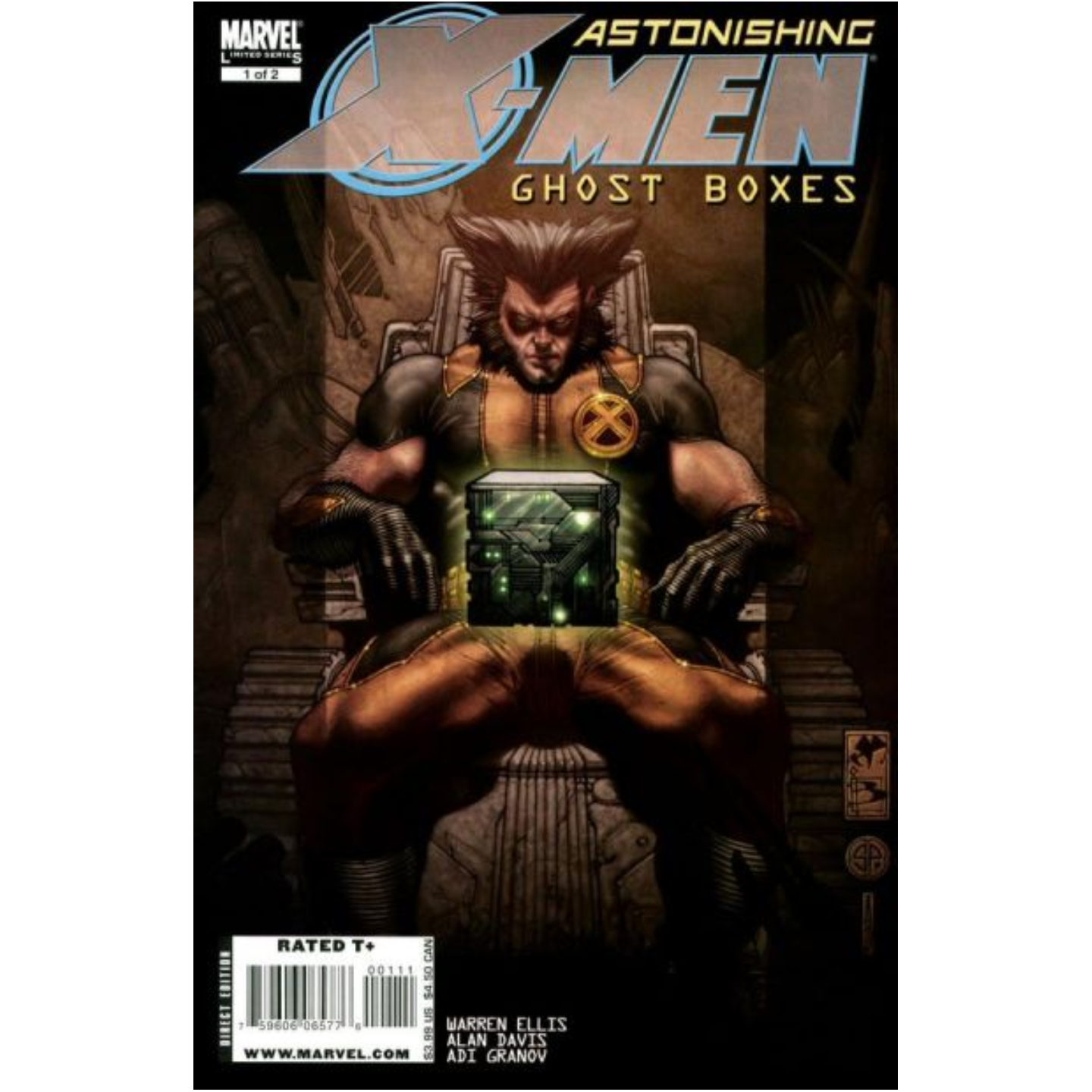 ASTONISHING X-MEN: GHOST BOXES #1 - #2 (COMPLETE MINI SERIES)