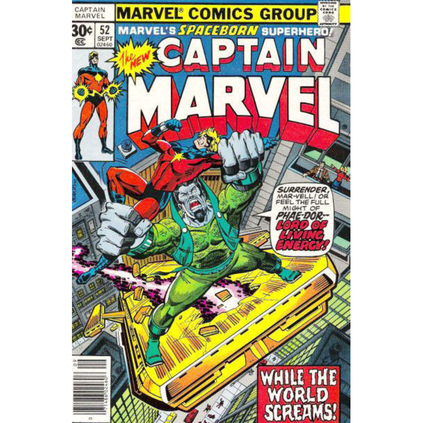 CAPTAIN MARVEL #52