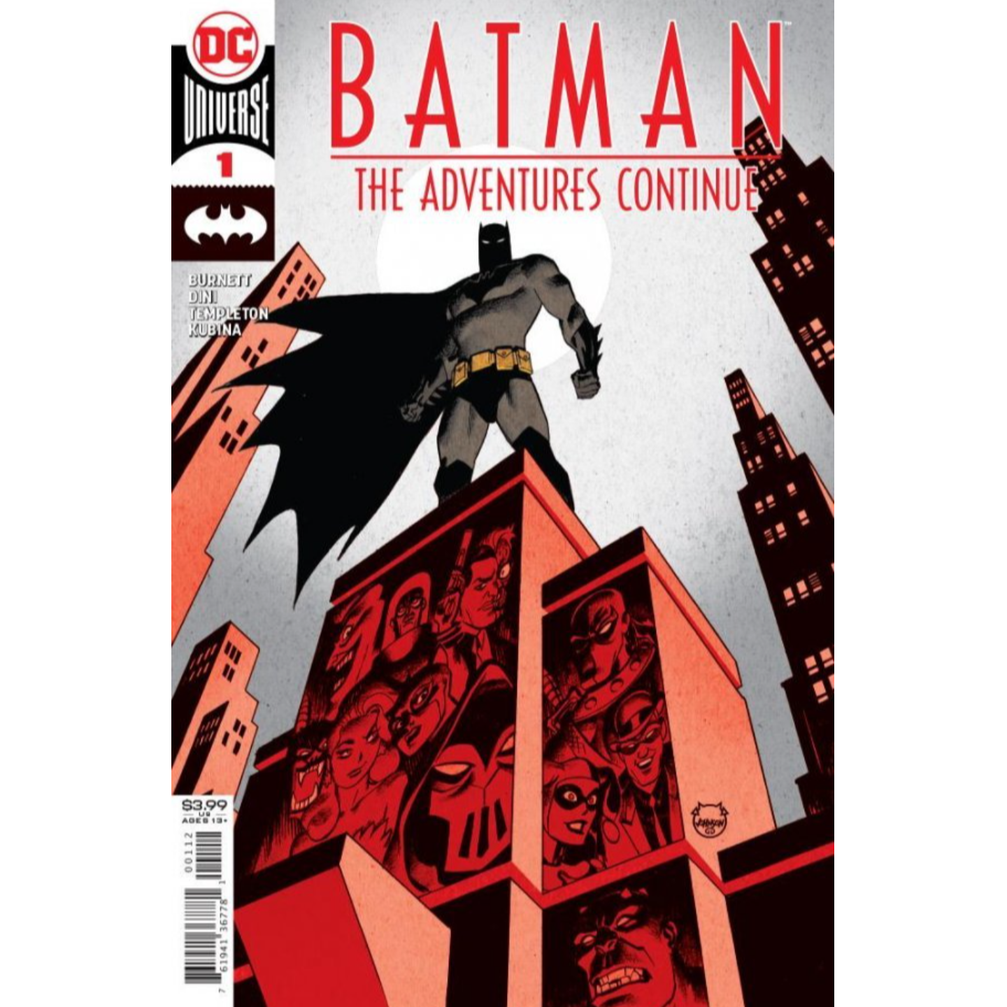 BATMAN THE ADVENTURES CONTINUE #1 (OF 6) Second printing