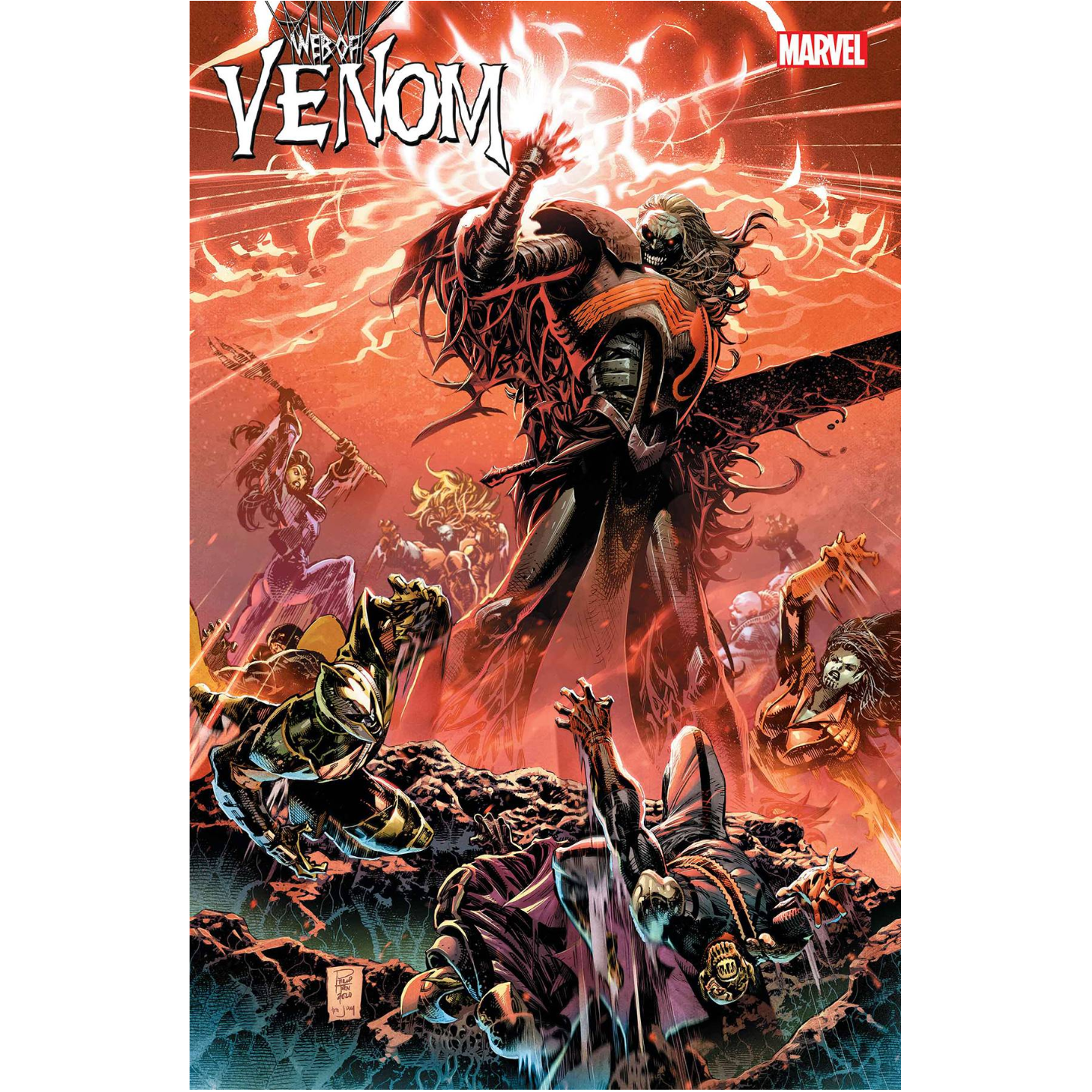 WEB OF VENOM EMPYRES END #1