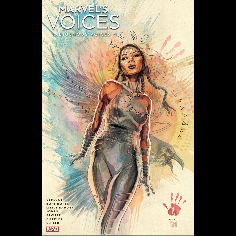 MARVELS VOICES INDIGENOUS VOICES #1 MACK VAR