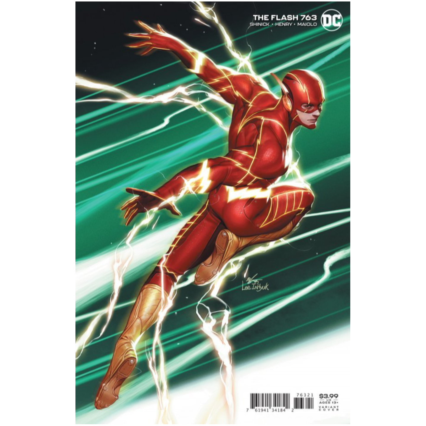 FLASH #763 CVR B INHYUK LEE VAR