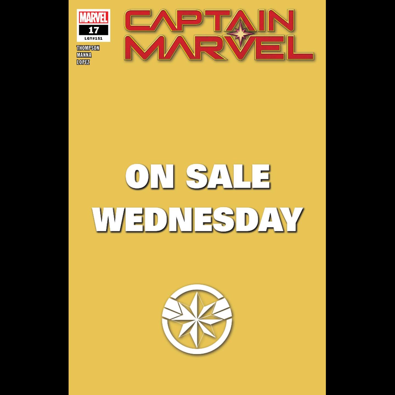 CAPTAIN MARVEL #17 MARVEL WEDNESDAY VAR