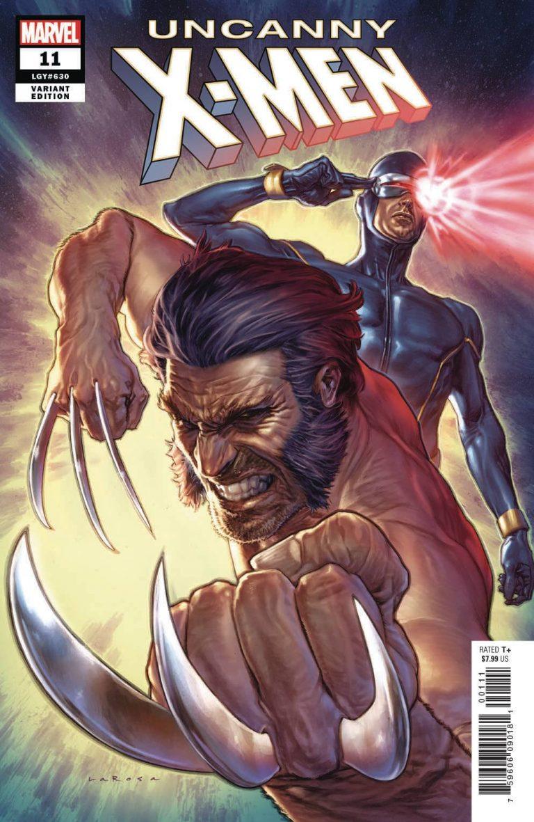 UNCANNY X-MEN #11 - LARROSA VAR