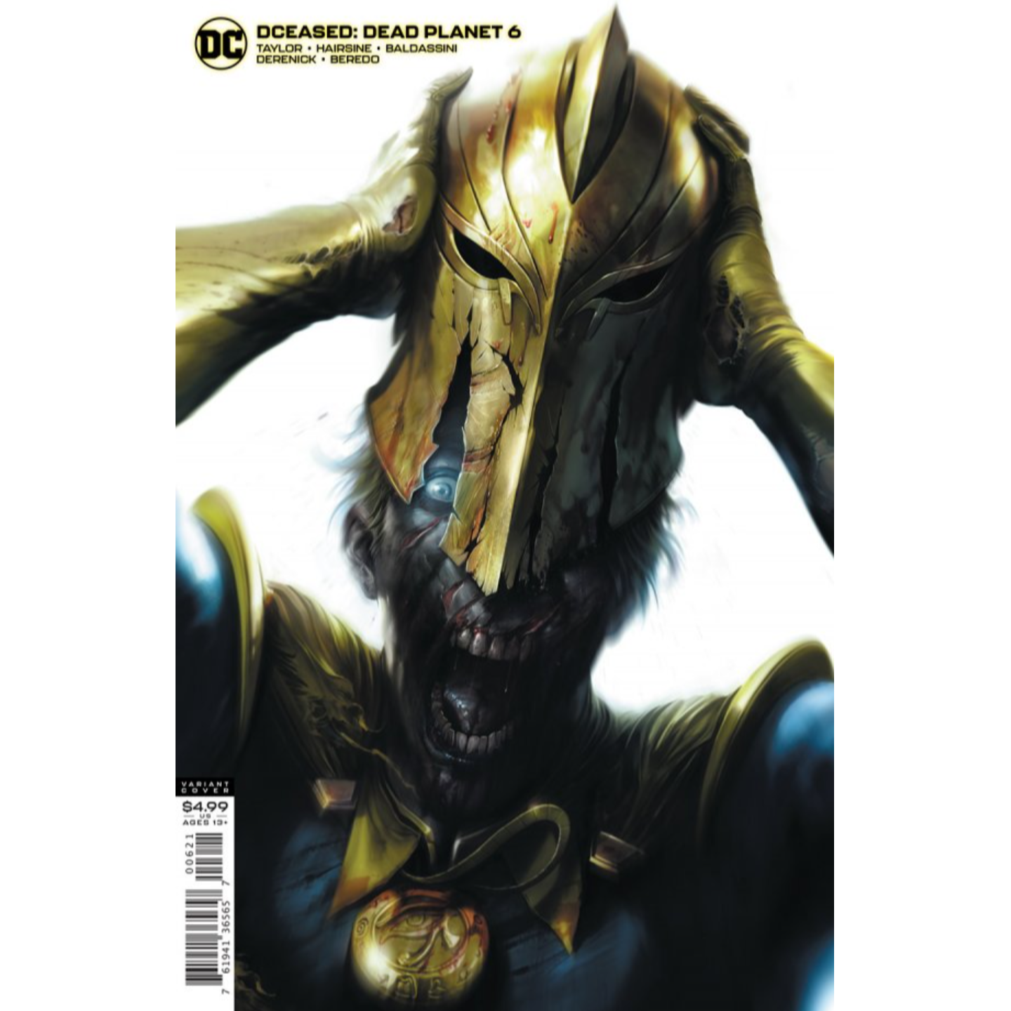 DCEASED DEAD PLANET #6 (OF 7) CVR B FRANCESCO MATTINA CARD STOCK VAR